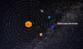 Progetto sistema solare ValSaino