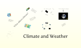 Copy of Climate and Weather