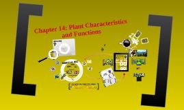 SBI3U Plants