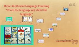 Direct Method of Language Teaching