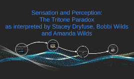 Sensation and Perception: