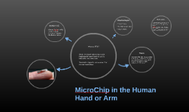 MIcrochip in the  Hand
