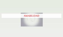 AMABILIDAD