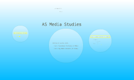 Copy of AS Media Studies