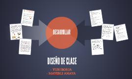 DISEÑO DE CLASE