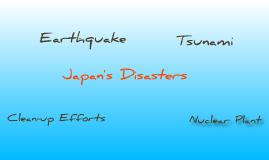 Japan's Tsunami/Earthquake Disasters
