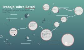 Tarea sobre Ratzel