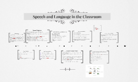 Speech and Language in the Classroom