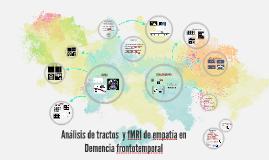 ANALISIS DE TRACTOS Y EMPATIA EN DFT