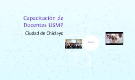 Capacitación de Docentes USMP
