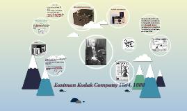 Eastman Kodak Company 1884, 1888