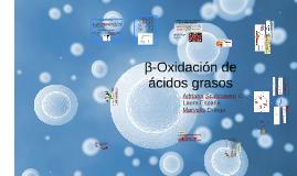 Copy of Beta oxidación de ác grasos