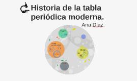 Historia de la tabla periodica moderna by ana diaz on prezi urtaz Image collections