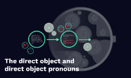 The direct object and direct object pronouns