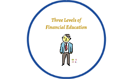 Three Levels of Financial Education