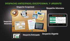 Copy of DESPACHO ANTICIPADO, EXCEPCIONAL Y URGENTE