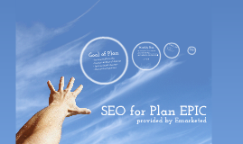 SEO Plan for EPIC