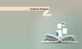 Oratoria Romana