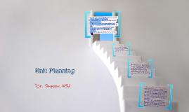 Unit Planning