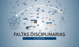 Copy of FALTAS DISCIPLINARIAS