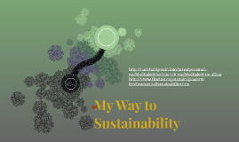 My Way to Sustainability