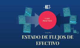 ESTADO DE FLUJOS DE EFECTIVO