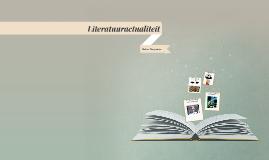 literatuuractualiteit