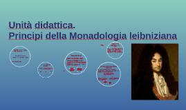 Principi della monadologia leibniziana