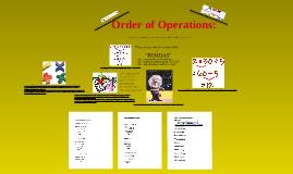 "Order of Operations (""PEMDAS"") Bulletin Board"