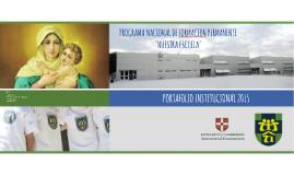 PORTAFOLIO INSTITUCIONAL