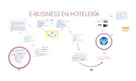 Copy of E - BUSINESS EN HOTELERÍA
