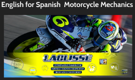 Course design - English for Motorcycle Mechanics