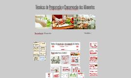 Técnicas de conservação e armazenamento de alimentos