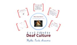 Deaf Culture Discussion