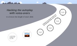 Tutorial: how to hack Prezi's autoplay function with silent voice-overs