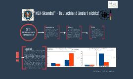 """""""NSA-Skandal"""" - Haben die Deutschen ihr Nutzungsverhalten ge"""