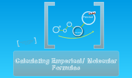Emperical and Molecular Formuals