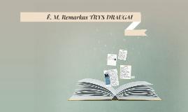 Ė. M. Remarkas TRYS DRAUGAI