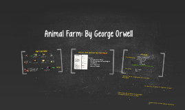 Animal Farm: By George Orwell