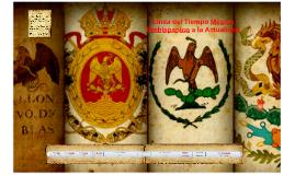 Copy of Linea del Tiempo México Prehispánico a la Actualidad