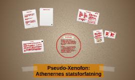 Pseudo-Xenofon: Athenernes statsforfatning