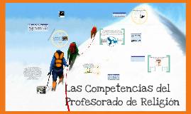 Copy of Copy of Las competencias del profesorado de religión