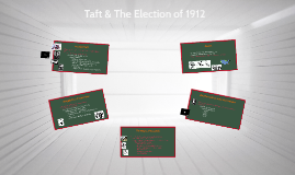 Taft & The Election of 1912