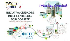 Copy of Ciudades Inteligentes del Ecuador IEEE