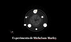Copy of Experimento de Michelson-Morley