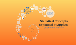 Statistical Concepts Explained in Applets
