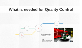 What is needed for successful Quality Control