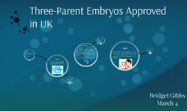 Three-parent embryos approved in UK