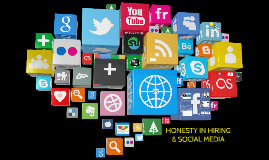 Honesty in Hiring & Social Media