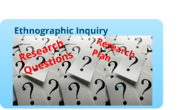 Research Questions and Research Plan